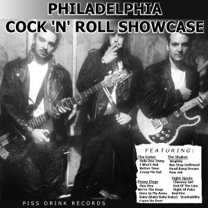 various artists philadelphia cock 'n' roll showcase lp piss drink 2013